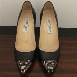 Jimmy Choo Pumps with Silver Studs SZ 35